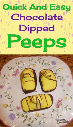Chocolate Dipped Pee