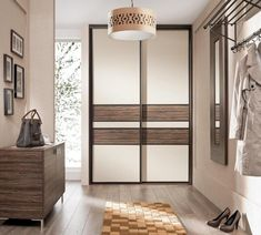 Best decorating ideas for small hallways Fitted Bedroom Furniture, Fitted Bedrooms, Hallway Furniture, Interior Design Pictures, Interior Design Gallery, Apartment Interior Design, Interior Designing, Sliding Wardrobe, Wardrobe Doors