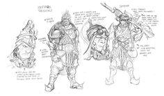 Character study of Piriokra Across the No Lands: Firewind Marcel Perèz Massegù #fantasy #nolands #firewind