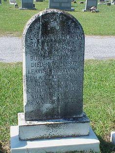 Benjamin Thomas Parker 1836-1897. 2nd Lt Co F 46th VA Infantry CSA