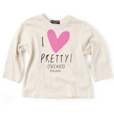 Casual shirt with print I pretty things by Sticky-Fudge Sticky Fudge, Fashion Brand, Casual Shirts, Little Girls, Kids Fashion, Girl Outfits, Graphic Sweatshirt, Sweatshirts, Tees