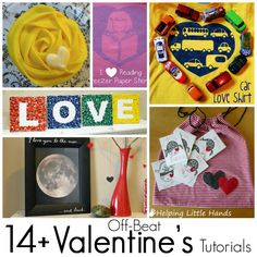 Favorite Valentine's Tutorials