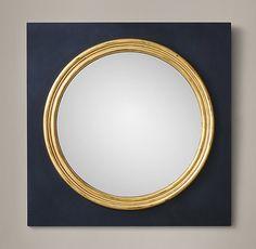 "18th C. English Regency Convex Mirror - 34"""