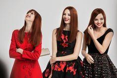 ochirly fall winter 2014 campaign miranda kerr6 Miranda Kerr, Ava Smith + Lindsey Wixson Return for Ochirly's Fall Ads