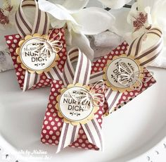 Stampin Up Goodie Give Away Box Schachtel Verpackung Stempelmami Nadine Koeller Wycinanka Chipboard