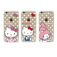 Genuine Hello Kitty Friends Dot Case iPhone 7 Case iPhone 7 Plus Case 7 Types #Sanrio