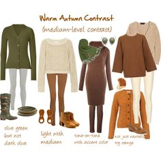 capsule wardrobe - colors to look for Deep Autumn, Warm Autumn, Autumn Winter Fashion, Capsule Outfits, Fall Capsule Wardrobe, Warm Fall Outfits, Seasonal Color Analysis, Color Me Beautiful, Warm Spring