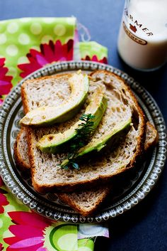 Marinated avocado. Vegan. Healthy and amazing, ideal for sandwich or spread.