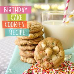 AWESOME Birthday Cake Cookies Recipe | Cardstore Blog