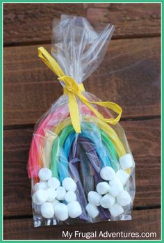 Have you seen these adorable little rainbow treat bags for children? There are lots of variations on these and they tend to be super popular around St Patrick's Day. I didn't intend to post these- I actually happened to be in charge of a treat for my Kindergartner's class today and we went through lots …