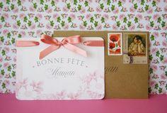 {DIY + printables} Carte romantique pour la fête des mères