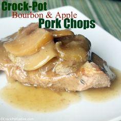 Crock-Pot Ladies Crock-Pot Bourbon Apple Pork Chops