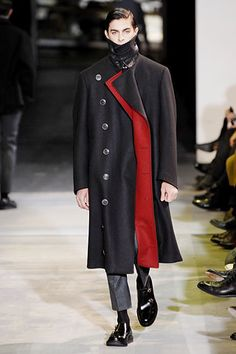 Yves Saint Laurent Fall 2007 Menswear