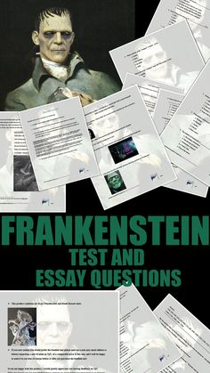 essay questions for the book monster