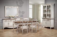 Muebles Portobellostreet.es: Comedor 2 Chantal - Ambientes Comedor Vintage - Muebles de Estilo Vintage