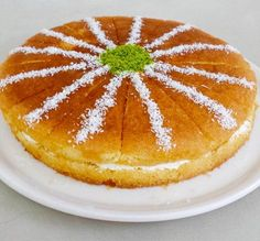 Food and drink dessert Cookie Desserts, Easy Desserts, Pasta Cake, Cake Recipes, Dessert Recipes, Bakery Cakes, Turkish Recipes, Food And Drink, Cooking Recipes