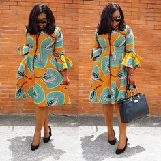 Beautiful Multicoloured African Dress I came across these beautiful African Print Dress. It is stunning and can be worn on many instances. I like to style it up or down depending on the occasion. Perfect for ALL OCCASSIONS and at a great PRICE African Fashion Ankara, Latest African Fashion Dresses, African Print Fashion, Africa Fashion, Short African Dresses, Ankara Short Gown Styles, African Print Dresses, Short Gowns, African Traditional Dresses