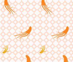 octopus fabric by heatherross on Spoonflower - custom fabric