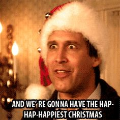 LET'S LAUGH! a collection of the funniest Christmas Gifs (#Griswold #ChristmasVacation) on Hello Lovely