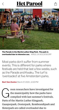 Kings Park, Summer Events, Martin Luther King, Amsterdam, March, News, King Martin Luther, Mac