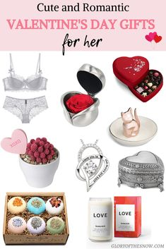 A helpful guide to the best romantic Valentine's Day gifts for her. | cute Valentine's Day gifts for girlfriend | Valentine's Day gifts for wife | Valentine's Day gift ideas | romantic Valentines gifts for her | meaningful Valentine's Day gifts for her | heart shaped gifts for Valentine's Day | unique Valentine's Day gifts for her | last minute Valentine's Day gifts for her | Valentine's Day 2020 gift ideas | what to buy for Valentine's Day | #valentinesday #valentines #valentinesdaygifts