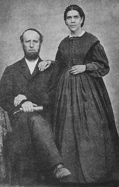 James and Ellen G. White.  Their son, Edson build the riverboat that caused my entire family history to be rewritten.  (Precious Jewels, A Seventh-Day Adventist Family Saga)