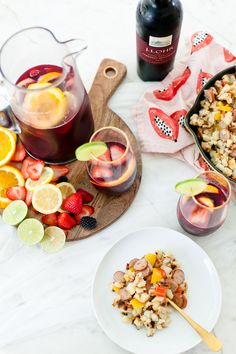What better way to celebrate the season than with a blood orange berry summer sangria? Its our go-to summer drink and with one big hack to make sangria even easier, this recipe is perfect for your next gathering or summer get together!