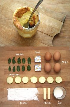 HEALTYFOOD  Diet to lose weight  Soufflés courgettes/kiri/menthe