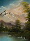 Image result for Bob Ross Original Paintings