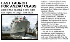 Last of the ANZAC-class launched - from CONTACT 02