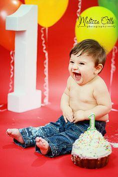 1st birthday baby boy | cake smash