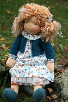 Miss Emma — Petit Gosset Softies, Realistic Baby Dolls, Sock Toys, Bear Doll, Waldorf Dolls, Baby Alpaca, Soft Dolls, Soft Sculpture, Doll Clothes Patterns