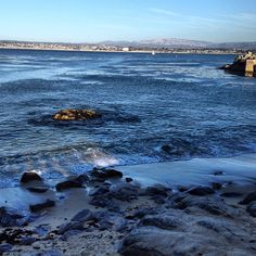 We went here on vacation when I was little and visited the beach, the aquarium, and Leguna Seca Raceway to see the historic races. Beautiful Places In The World, Great Places, Places To Visit, Monterey County, Monterey Bay, California Coast, Santa Clara, San Jose, Oceans