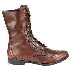 BORN Leonis Boots (Walnut (Brown)) - Women's Boots - 6.5 M