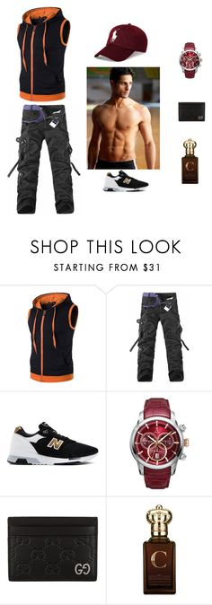 """D _ S"" by denissalihovic123 ❤ liked on Polyvore featuring New Balance, Allurez, Gucci, Clive Christian, Polo Ralph Lauren, men's fashion and menswear"