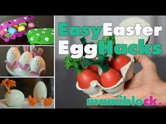 Ostereier - Pimp it up | Easter Egg Hacks | mamiblock - Der Mami Blog