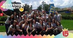 El grupo #azulJ16 en su arribo a #Disney!  #Enjoy15