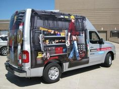 Nissan Commercial Vehicle box truck wrap advertising