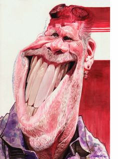 Ron Perlman by Marvin Lorenz