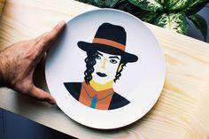 Michael Jackson's plate by josearoda on Etsy https://www.etsy.com/listing/207722851/michael-jacksons-plate