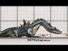 Monster Hunter 3 (Tri) G - Monster Sizes