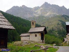 Chapelle Sainte-Marie de Fontcouverte à Névache