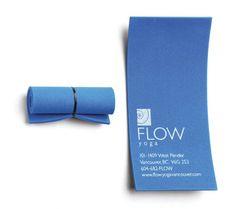 Flow Yoga's Creativei Business Card