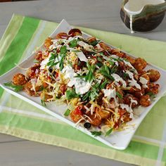 Nibble Me This: The Tater Patch (Tater Tot Nachos)