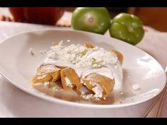 Tacos de queso - Cheese tacos - Recetas de comida mexicana
