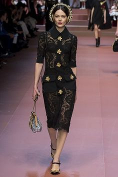 Dolce & Gabbana Winter 2015-16 Collection – GeorgiaPapadon