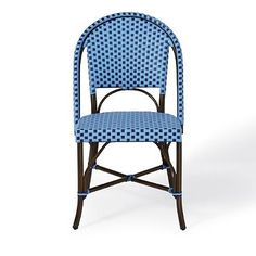 Monet Cafe Armless Dining Chair- Grandinroad