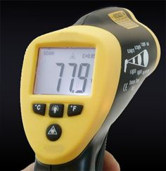 A handheld infrared thermometer of the type used by some ghost hunters (Photo credit: Wikipedia) http://epages.wordpress.com/2014/10/14/the-influence-of-paranormal-television/