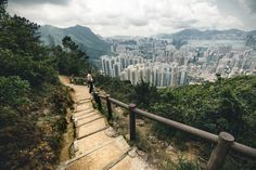 To : Lion's Rock - One of my highlights of Hong Kong was hiking, and by far my…