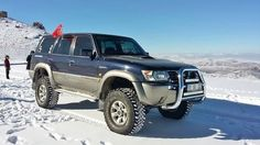 Nissan Patrol Gr Y61 snow, Turkish